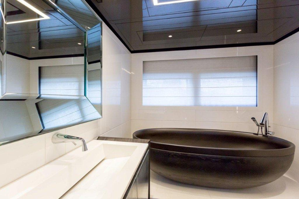 Luxury Yacht GENESI Bathroom Luxury Yacht Charter Superyacht