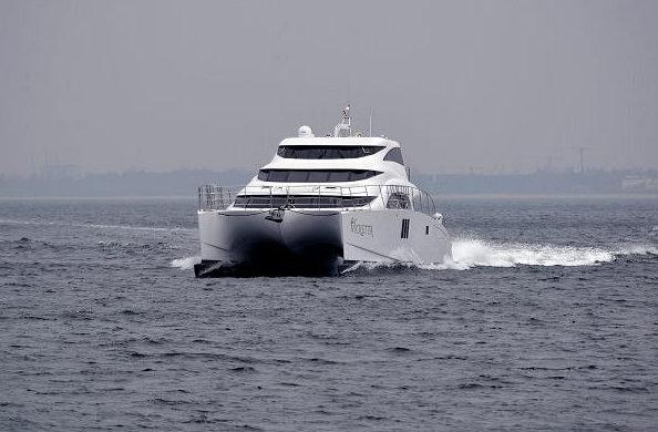 Luxury yacht VIOLETTA