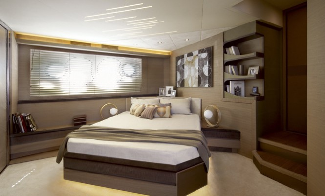 MCY 70 Yacht - Cabin