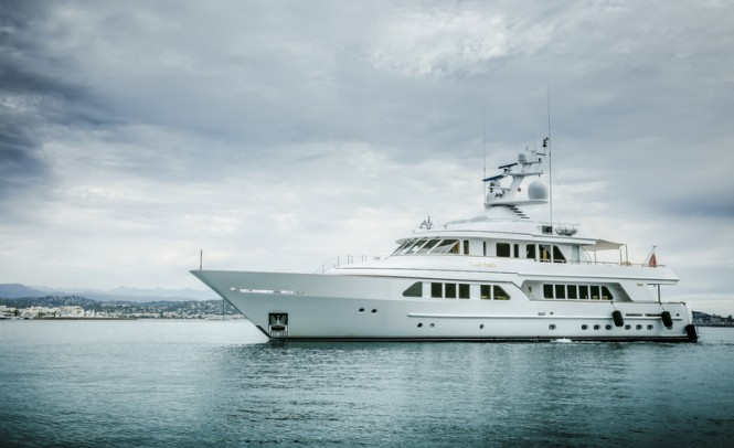 Motor yacht LADY INDIA (ex Katrion, #665) by Feadship with interior design by Versteegh-Design - Photo by Peter Baas
