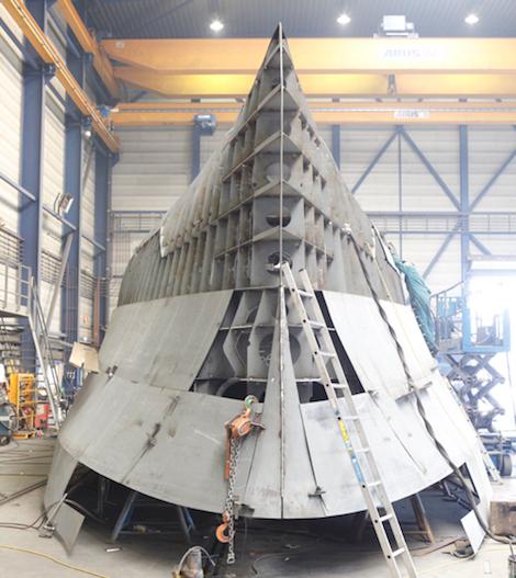 New Explorer Yacht under construction at Holland Jachtbouw