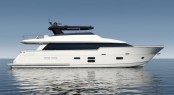 New Superyacht Hatteras 90 unveiled by Hatteras Yachts at FLIBS 2015