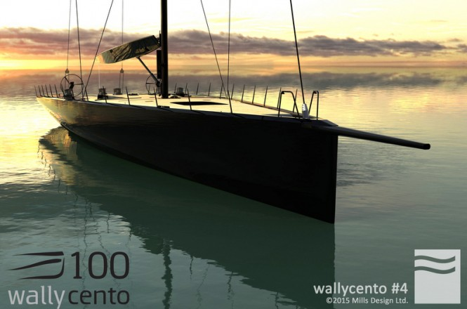 New sailing yacht wallycento#4