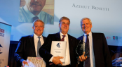 Paolo Vitelli, founder and chairman of Azimut Benetti, honoured with the Lifetime Achievement Award.