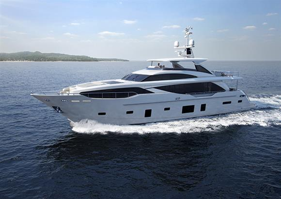 Princess 30M Yacht underway