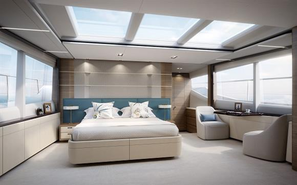 Princess 30M superyacht - Stateroom