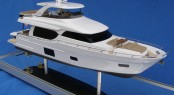 Scale model of NEW Ocean Alexander 70E Yacht by Brian Klassen Models