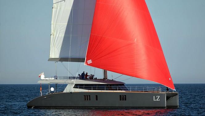 Sunreef 74 sailing catamaran LUCY Z (LZ)