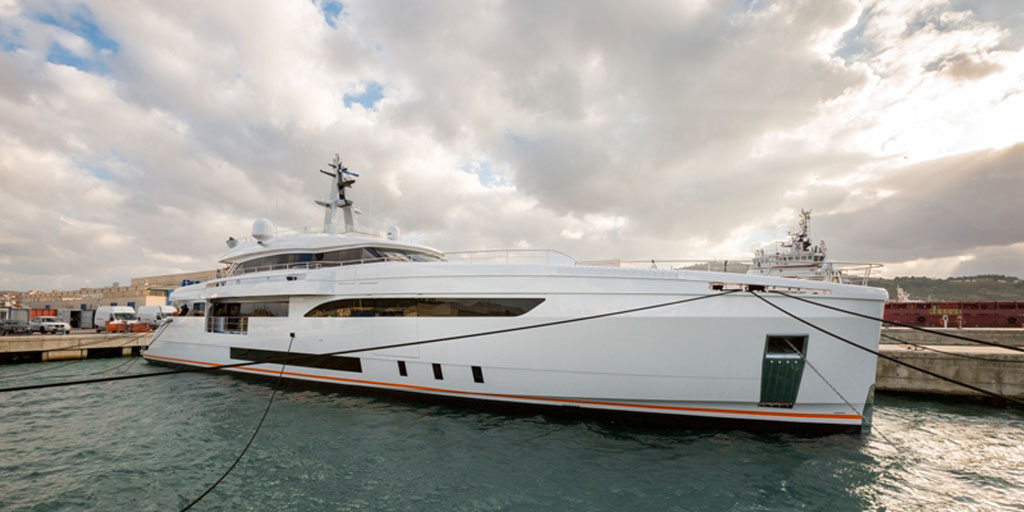 Wider 150 Yacht GENESI just launched — Luxury Yacht ...