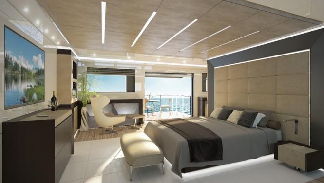 Luxury yacht GENESI - Owners Suite
