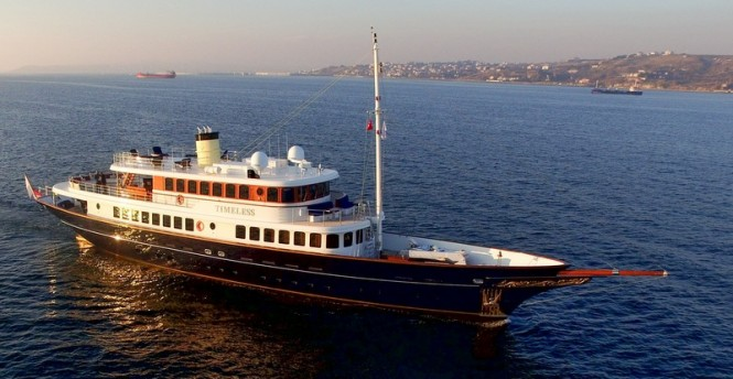 First bilgin classic 160 motor yacht timeless for sale for Vintage motor yachts for sale