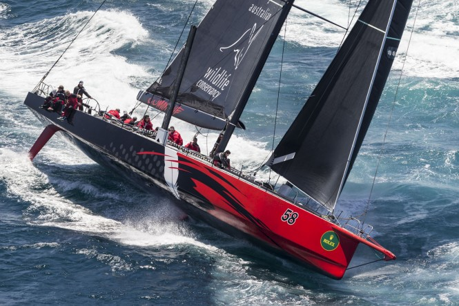 COMANCHE destined for Rolex Sydney Hobart - CREDIT ROLEX Carlo Borlenghi