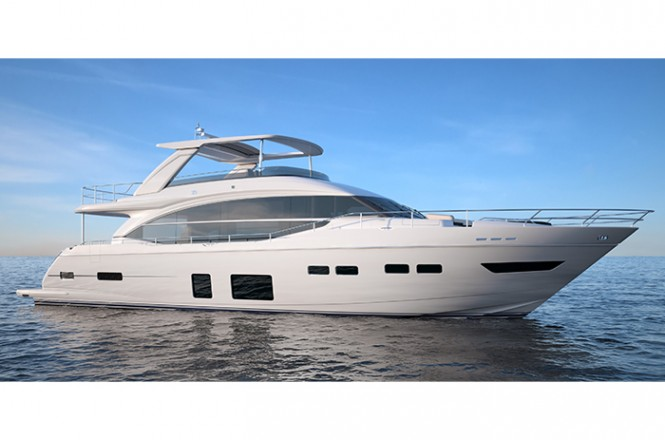 New Princess 75 by Princess Yachts