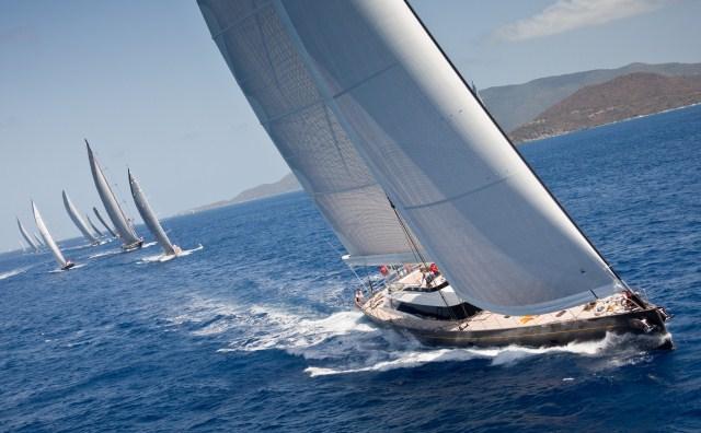 Superyacht Ohana has registered to be part of the Loro Piana Caribbean Superyacht Regatta & Rendezvous fleet for 2016 - Photo by Carlo Borlenghi.