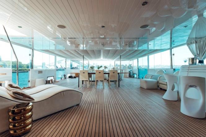 TANGO - Aft deck view