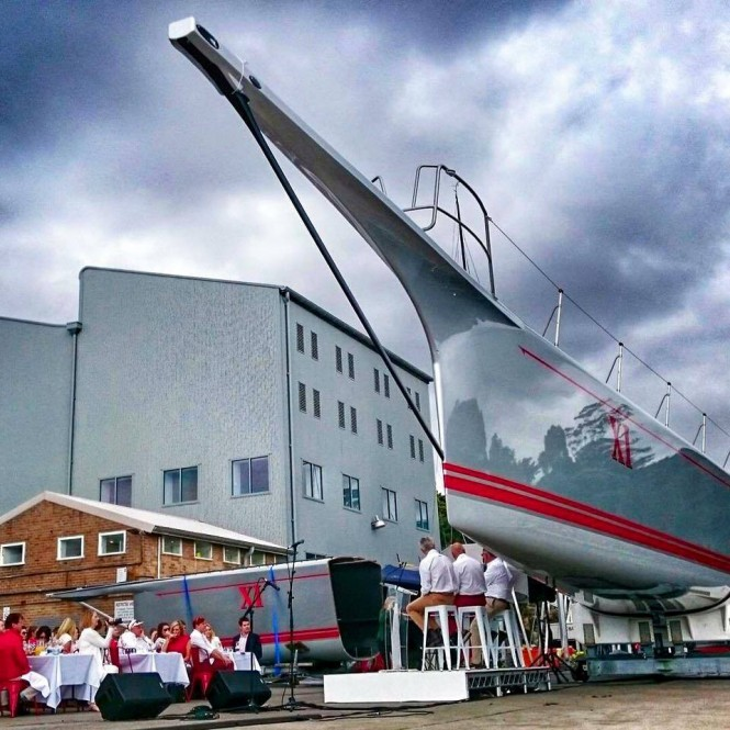 Unveiling of the new-look Wild Oats XI - Image credit to Andrea FrancoliniAUDI