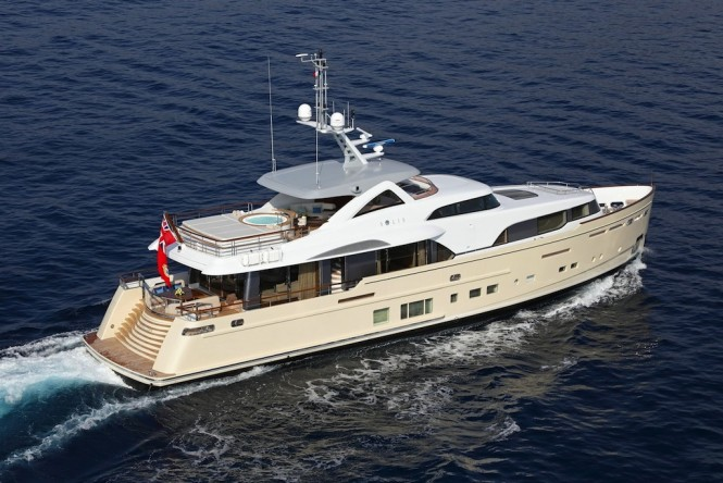 34m SOLIS - The largest yacht ever launched by Mulder Shipyard