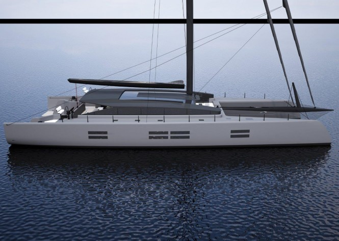 90' catamaran concept by McConaghy and Ker Yacht Design