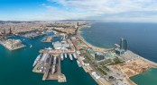 Aerial view of Marina Barcelona 92