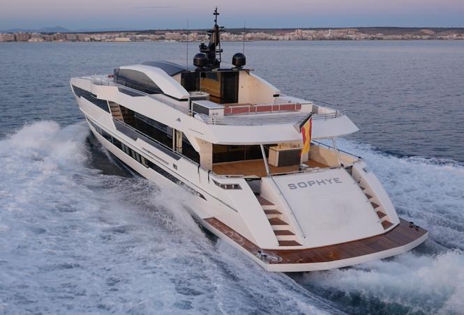 Astondoa Century 110 GLX superyacht SOPHYE
