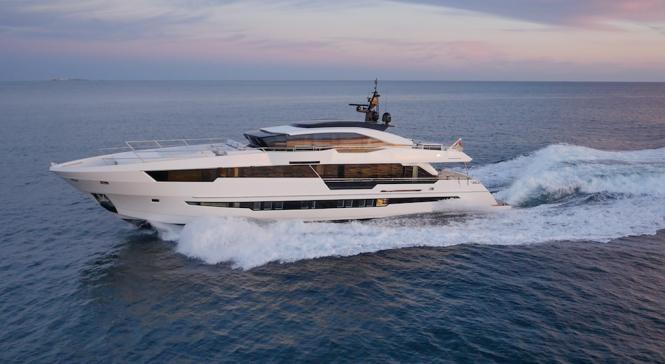 Astondoa Century 110 GLX yacht