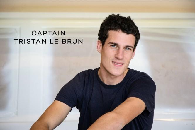 Captain Tristan Le Brun of M/Y ETOILE D'AZUR