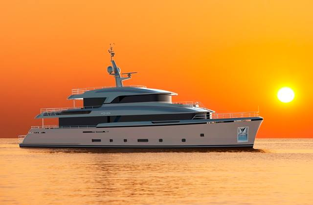 First 37m Martinique by Moonen Yachts