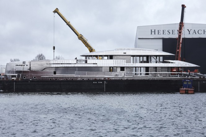 Heessen Yachts Project NOVA under construction in Oss - Photo by Dick Holthuis