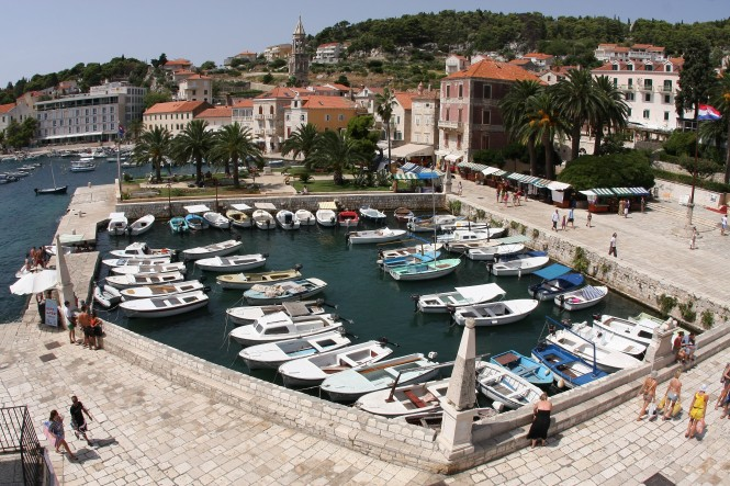 Hvar - Photo Boris Kragić - Image credit to Croatian National Touris Board