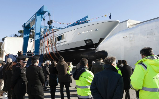Launch of Baglietto 54m