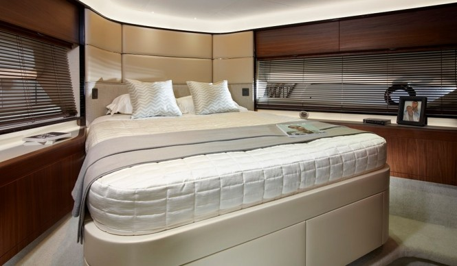 Princess 75 - Forward Cabin - Image by Princess Yachts International plc