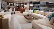 Princess 75 - Saloon - Image by Princess Yachts International plc