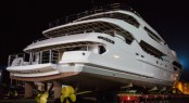 Princess AVK ready to enter next stage of her fit out - Photos of her launch and interiors to follow soon