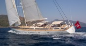 SAVARONA available for charter in the Mediterranean
