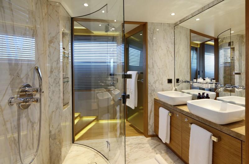 Solis Bathroom Yacht Charter Superyacht News