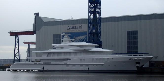 Second AMELS 242 - Photo by Dutchmegayachts