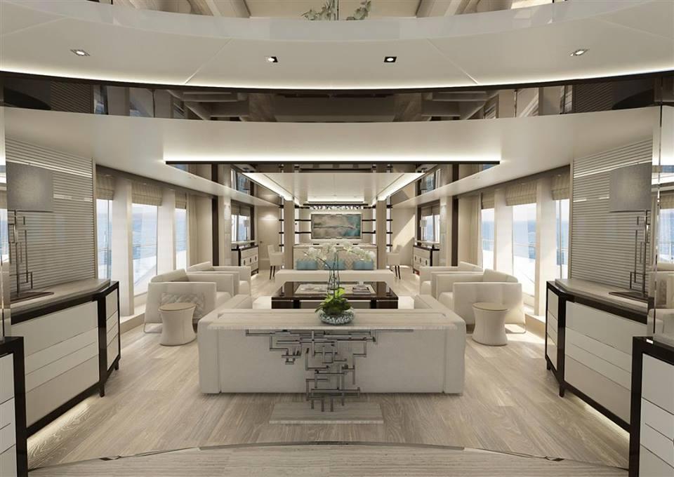 Sunseeker 131 Yacht Interior Yacht Charter