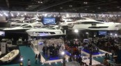 Sunseeker at the 2016 London Boat Show