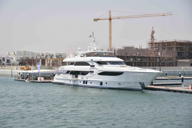 The Majesty 135 in Almouj Marina