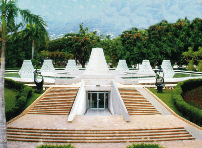 The Museum of MUPANAH in the city of Port-au-Prince