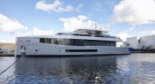 Hull 692 by Feadship at launch