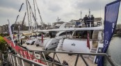 Luxury vessels on display in London
