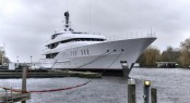 Vanish by Feadship on the water