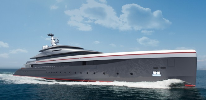 90m Oceanco E-MOTION - No image of mega yacht MOONSTONE is available at the present - Image courtesy of Oceanco