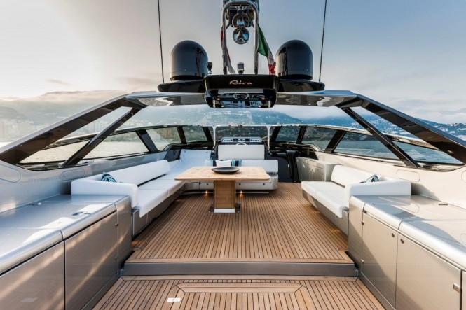 Aboard Riva 88 Florida