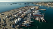 Aerial view of STP Shipyard Palma