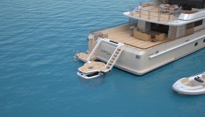 Arcana by Horacio Bozzo Design - submarine custom-launch and recovery platform