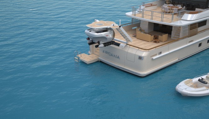 Arcana - submarine custom-launch and recovery platform