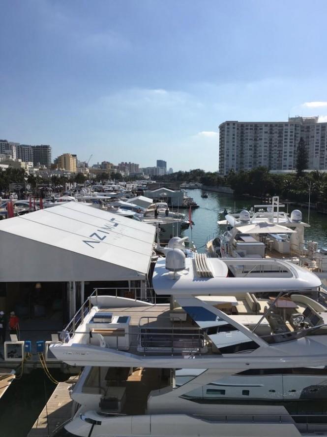 Azimut Yachts at Yachts Miami Beach 2016