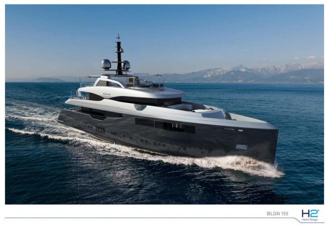 Bilgin 155 by Bilgin Yachts and H2 Yacht Design